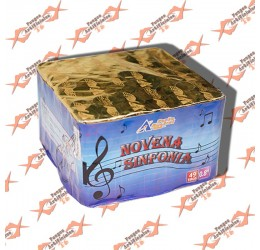 "Torta ""Novena Sinfonia"" 49 Tiros"