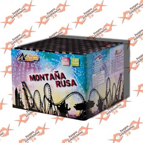 Torta Montaña Rusa 48 Tiros